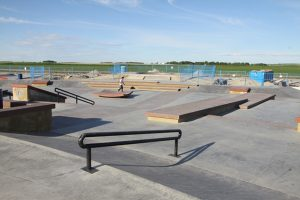 Chinook Winds Skatepark Airdrie