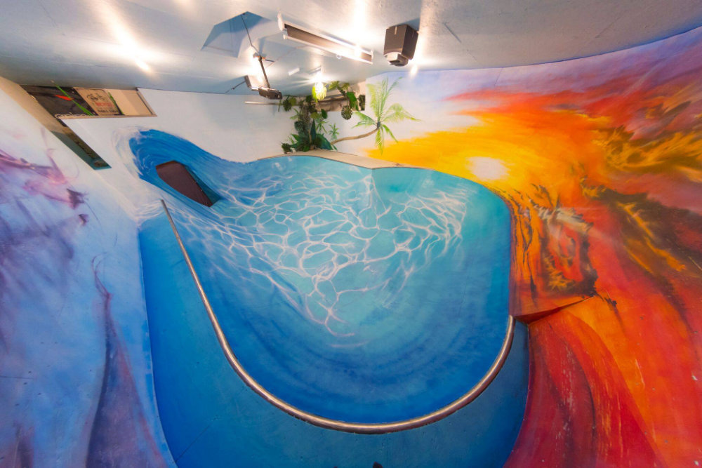 The Beach  Indoor Skatepark * Saskatoon SK