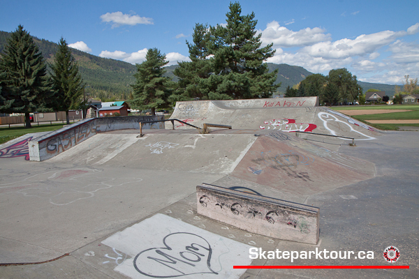 Lumby skatepark