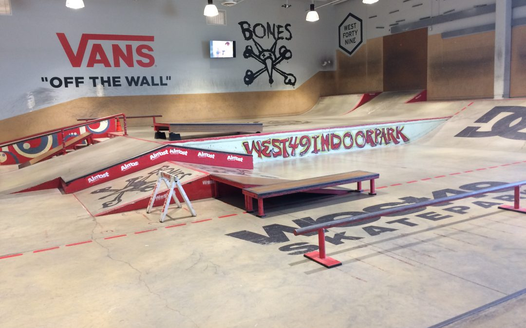 West 49 Indoor Skatepark – Tsawwassen BC